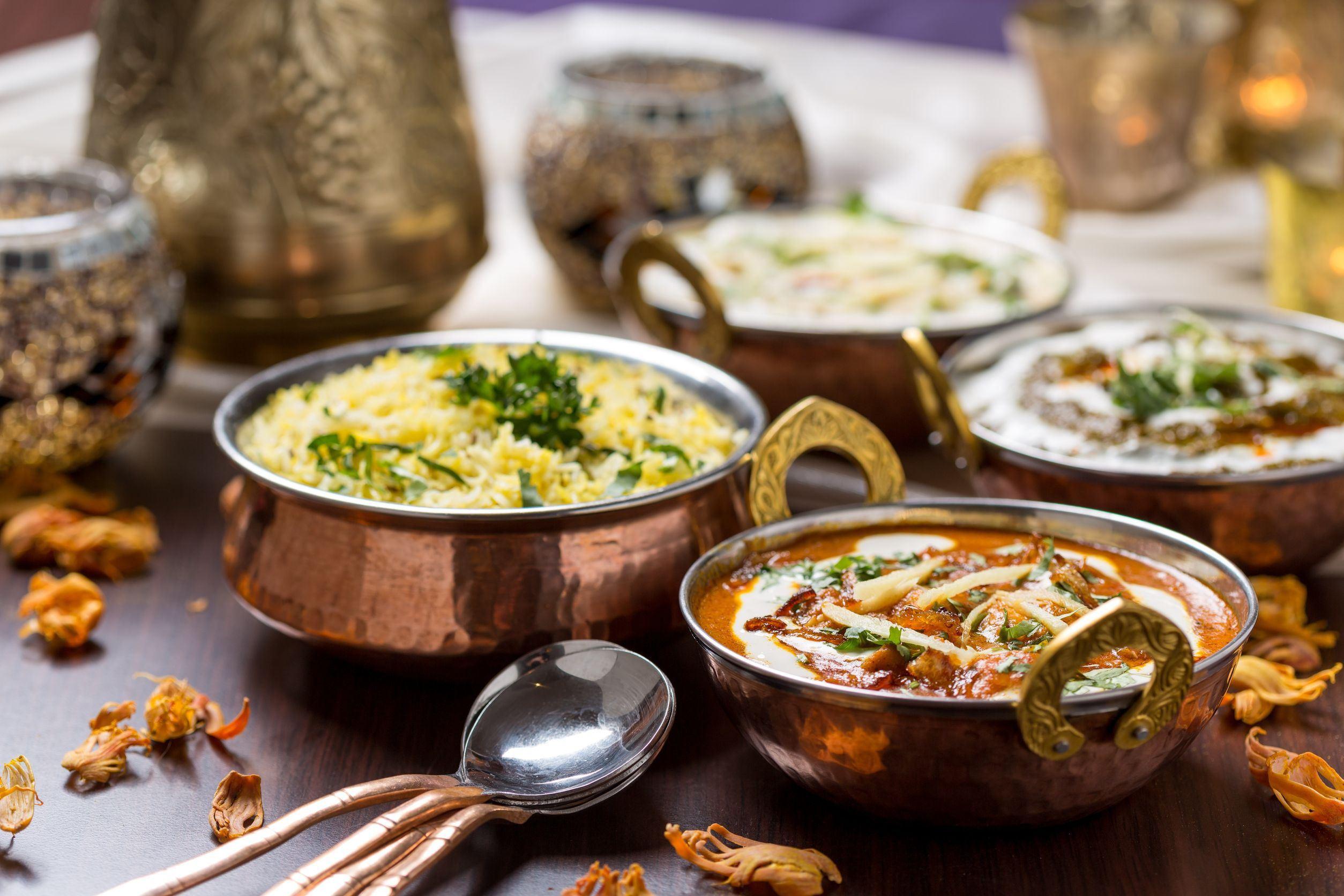 Indische Küche für Vegetarier